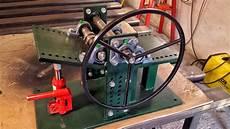 rollenbiegemaschine selber bauen biegemaschine
