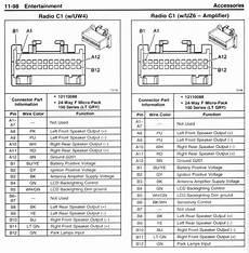 2003 Chevy Radio Wiring Diagram Truck Stereo Radio