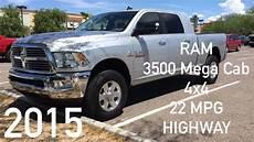 Dodge Ram 3500 Mpg 2015 ram 3500 mega cab diesel 4x4 mpg highway srw