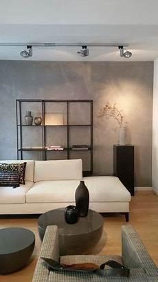 wandgestaltung wohnzimmer farbe betonoptik im wohnzimmer die moderne beton cire