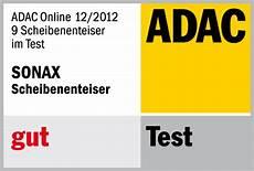 adac test fahrradträger sonax scheibenenteiser erfolgreich im adac test sonax