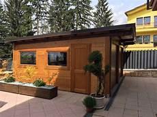 il garage il garage in legno