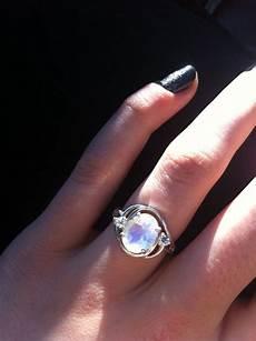 Moonstone Engagement Ring my rainbow moonstone engagement ring вecaυѕe нιѕ нearт