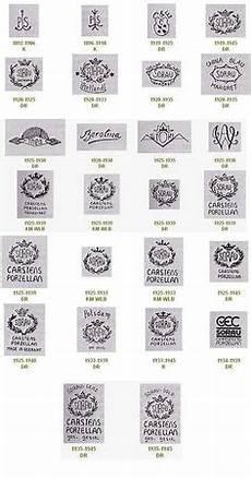 bavaria porzellanstempel katalog sorau carstens porzellan stempel marke sorauer