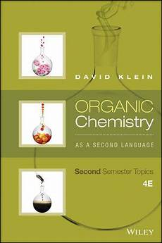 wiley organic chemistry as a second language second