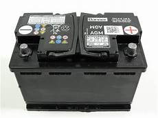 autobatterie golf 6 vw golf 6 7 tiguan agm batterie akku autobatterie 68ah