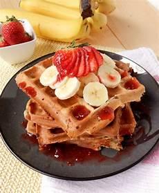 banana waffles twosaucysisters