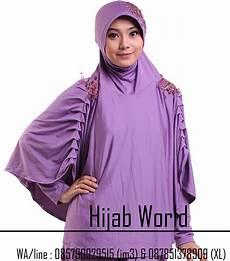 Jilbab Syari Terbaru Instan Bahan Jersey Jilbab Instan