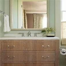 wire brushed oak vanity transitional bathroom hranowski