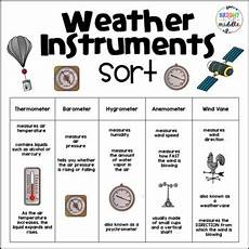 weather instruments worksheets 14579 weather instruments worksheet engaging by renee bright in the middle