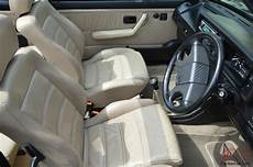 1992 vw cabriolet gti leather interior light