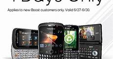 for free mobile free boost mobile prepaid phones for new customers