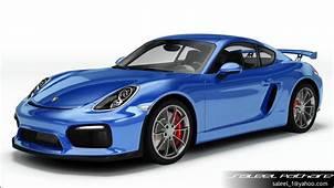 Porsche Cayman GT4 2015 3D  CGTrader
