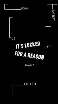 Lock Screen Iphone Black Wallpaper With Quotes