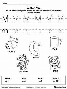 words starting with letter m lettering preschool letters teaching letters