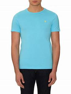 lyst polo ralph logo embroidered cotton t shirt