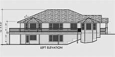 sloped lot house plans walkout basement side sloping lot house plans walkout basement house plans