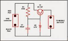 usb mobile charger circuit diagram electrical engineering pics