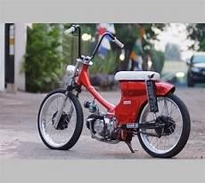 Warna C70 by Foto Modifikasi Sepeda Motor Honda C70 C700 Modif Jok Dan