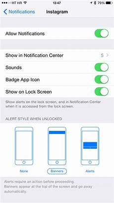 how to change instagram notification sound on iphone how to get notifications on apple watch when specific