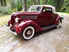1936 FORD All Steel Convertible CABRIOLET & MULLINS