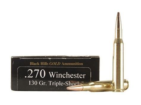 Black Hills Gold Ammo 270 Winchester 130 Grain Barnes