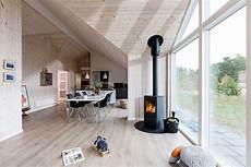 maison scandinave avec un design contemporain