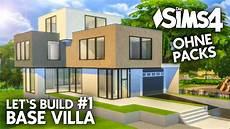 sims 4 häuser bauen die sims 4 haus bauen ohne packs base villa 1