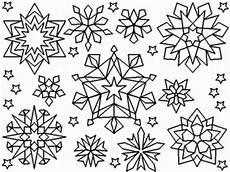 Malvorlagen Schneeflocken Ausdrucken Snowflake Coloring Pages Printable Coloring Home