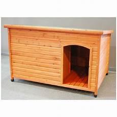 lot de niches en bois grand chien large