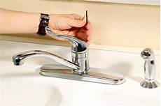 leaking moen kitchen faucet how to fix a leaking moen kitchen faucet hunker