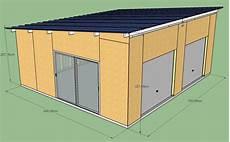 Construction D Un Garage En Ossature Bois