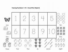 tracing numbers 1 10 worksheets kindergarten math worksheets kindergarten worksheets