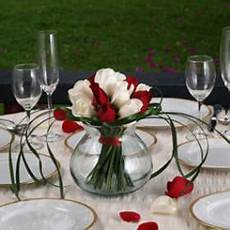 buy red and white romantic wedding rose centerpieces