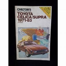 automotive service manuals 1996 toyota celica auto manual 1971 1983 toyota celica supra chilton repair manual 7043 on ebid united states 188045567