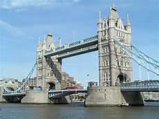 Tower Bridge Bascule Bridge In Travelling Moods