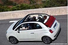 fiat 500 decapotable small engines get even smaller fiat s turbocharged