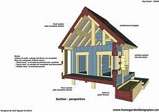 plans for insulated dog house home garden plans dh300 dog house plans free how to