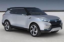 2016 SsangYong Tivoli Seven Seater Concept For Frankfurt