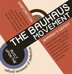 infographic the bauhaus movement and the school that