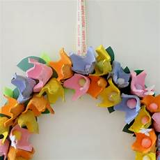 how to make an egg flower wreath hobbycraft