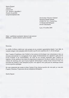 Demande D Emploi Lettre Manuscrite Employment Application