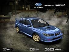 Need For Speed Most Wanted Subaru Impreza WRX STi 2006