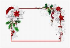 christmas png photo with santa hat and merry christmas border png transparent cartoon free