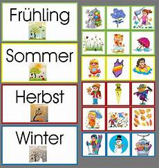 Malvorlagen Jahreszeiten Lernen Jahreszeitenmaterial Spielend Leicht Lernen