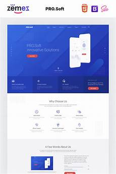 multi web software software development company multipage html5 template