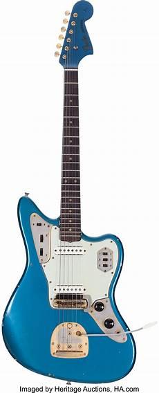 1964 Fender Jaguar Lake Placid Blue Solid Electric