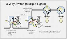 3 way switch to multiple lights for the home 3 way