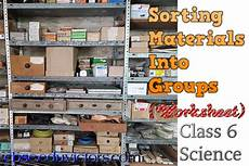 worksheets on sorting materials into groups class 6 7855 cbse papers questions answers mcq class6 science