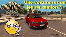 Truck Simulator 2 Multiplayer Une Voiture Sur Un